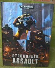 Warhammer 40K - Stonghold Assault Supplement (REF 5) - HARDBACK - Exc Con