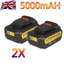 2 Pcs DeWALT DCB205-2 20V MAX Premium XR 5.0Ah Lithium Ion Power Tool Battery UK