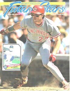 Beckett Future Stars Magazine August 1991 #4  Hal Morris Cincinnati Reds