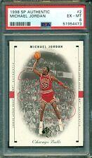 Michael Jordan 1998 Upper Deck SP Authentic #2 ** PSA 6 ** Just Graded NBA GOAT