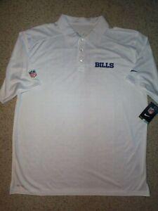 *IRREGULAR* Buffalo Bills NIKE nfl ($70) Polo Jersey Shirt Adult MENS/MEN'S (xl)