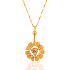 Citrine Trilian Fashion Chain Pendant Gemstone 925 Silver Womens Jewelry