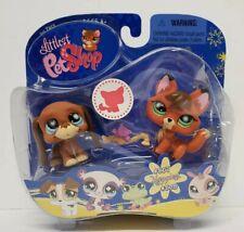 Fox & Hound  #807 & #808 Littlest Pet Shop Rare NEW