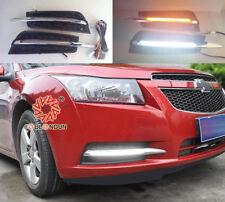 2x LED Fog Light Lamp Daytime Running Light Set For Chevrolet Cruze 2009-2013