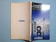 BOOK MANUAL CASIO SCIENTIFIC CALCULATOR MANUAL SA06107061D 1986
