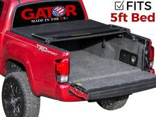 Gator Soft Tri-Fold Tonneau Truck Bed Cover 2016-2018 Toyota Tacoma 5 ft