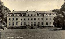 Weißenhaus Ostsee alte s/w Postkarte 1960 Außenansicht Gebäude Schloss Castle