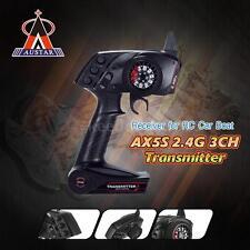 AUSTAR AX5S 2.4G 3CH AFHS Remote Control Transmitter w/ Receiver for RC Car X0Y5