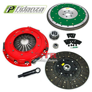 "XTR STAGE 2 10.5"" CLUTCH KIT & FIDANZA FLYWHEEL for 86-95 FORD MUSTANG GT 5.0L"