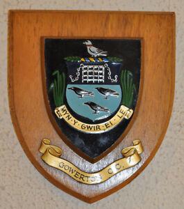 Gowerton Cricket Club plaque shield crest