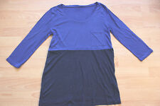 BODEN  blue colourblock  top size 8  NEW