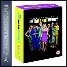 THE BIG BANG THEORY - COMPLETE SEASONS 1 2 3 4 5 6 7 8 9 & 10 *BRAND NEW DVD ***