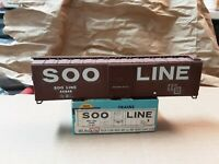 Athearn Soo Line Box Car       HO Scale