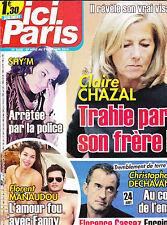 ICI PARIS. aout2014 . FLORENT MANAUDOU  SHY'M  CLAUDE BRASSEUR  DECHAVANNE