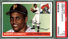 1955 Topps ROBERTO CLEMENTE Rookie #164 PSA 3 Pittsburgh PIRATES HOF!!