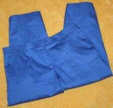 Women's George Think Slim Pants Blue Size 16W Short RN#19747 Work Career