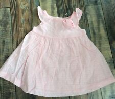 Gymboree Girls Flower dress Pink Wedding Easter Nwt 0-3 M