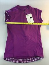Bontrager Vella Womens Size Medium M Cycling Jersey (6550-17) f0ddf7e35