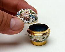 Cloisonne ball Jewelry trinket box Unusual Shape