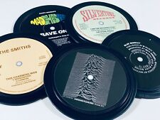 More details for manchester music coasters. the smiths joy division stone roses new order mondays