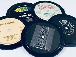 MANCHESTER music coasters. THE SMITHS Joy Division STONE ROSES New Order MONDAYS