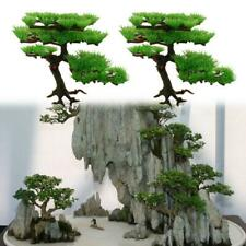 Aquarium Decoration Plastic Artificial Water Plant Pine Tree Bonsai Fish Tank