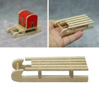 Dollhouse Miniatures 1:12 Scale Flyer Sled Christmas Hot Diy decoration I3P4