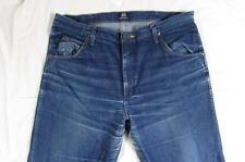 Wrangler 47MWZPW Dark Hige Fade Denim Jeans Tag 38x32 Measure 38x32.5 Cowboy