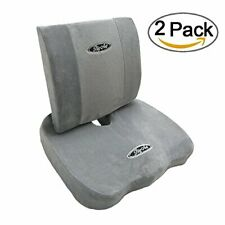 Memory Foam Coccyx Orthoped Back Cushion Back Support Lumbar Pain Relief Pillow