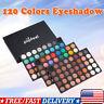 120 Colors Eyeshadow Palette Matte Shimmer Eye Shadow Cosmetic Makeup Kit HOT