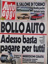 Auto OGGI n°71-72 1988 Seat Ibiza SXI - Citroen BX Turbo - Passat 1800 [Q201]