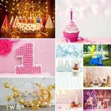 5x7ft Baby Birthday Party Theme Photography Backdrops Background Props 3x5ft