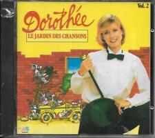 CD 14T DOROTHÉE LE JARDIN DES CHANSONS VOL.2 NEUF SCELLE 1989 AB PRODUCTIONS