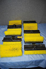 1-Lot of 10 / RUBBERMAID Bi-Level Scrub Brushes (#FG633728YEL) (NEW) (#M3679)