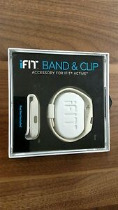 iFIT BAND & CLIP In White