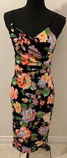 Women's Dress Size 12 Black New Look BNWT RRP £24.99 Floral <MM1707
