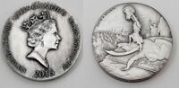 2015 David & Goliath Biblical Series Scottsdale Mint  2 oz 999 Silver Round Coin