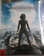 Underworld 1-4 Quadrilogy,Limited Ultimate Hero mit Figur,4 Blu Ray Box, NEU&OVP