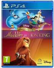 Aladdin and The Lion King Disney Classic Games PS4 (New & Sealed)