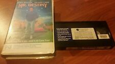 MR DESTINY - JAMES BELUSHI, MICHAEL CAINE -CLAMSHELL  VHS VIDEO TAPE