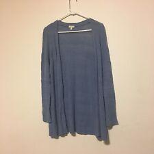 Talbots Petites womens cardiagan sweater size MP blue