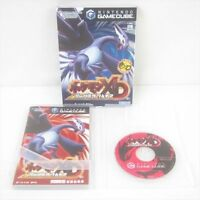 POKEMON XD DARK LUGIA Nintendo Game Cube For JP System Game gc