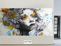 CANVAS PAINTING Art Print  URBAN BUTTERFLY PRINCESS 600mm Australia