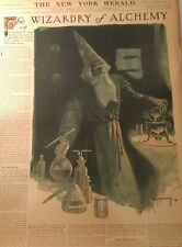 JUNE 12, 1910 NEWSPAPER PAGE #JD6011- WIZARD OF ALCHEMY