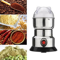 Electric Coffee Spice Nut Grinding Mill Machine Bean Grinder Miller Pulver Deko
