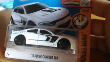 AUTO HOT WHEELS DODGE CHARGER 15' DHX41 NUOVO IN SCATOLA ORIGINALE