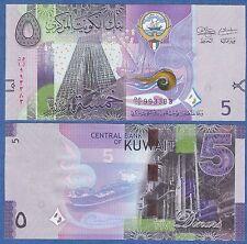 Kuwait 5 Dinars P New (2014) UNC Low Shipping! Combine FREE!