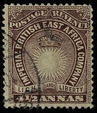 British East Africa  1890-94   Scott #20    USED