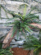 Artificial Fern 40cm Plant Reptile Enclosure Snake Lizard Frog Jungle ZDP-006