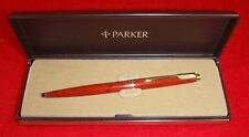 PARKER HERITAGE COLLECTION BALLPOINT PEN RED LAQUE   NEW IN BOX MADE IN FRANCE